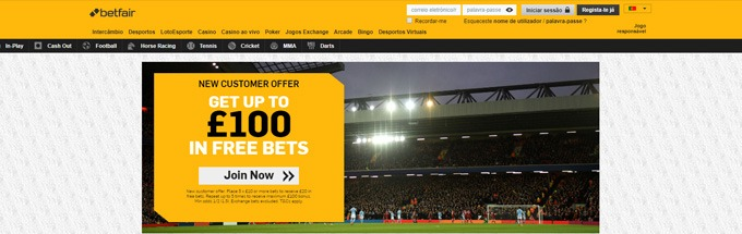 Betfair-cassino-online