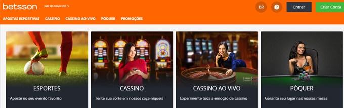 Betsson-cassino online