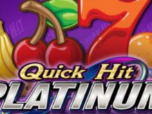 Quick Hit Platinum caça-níquel grátis